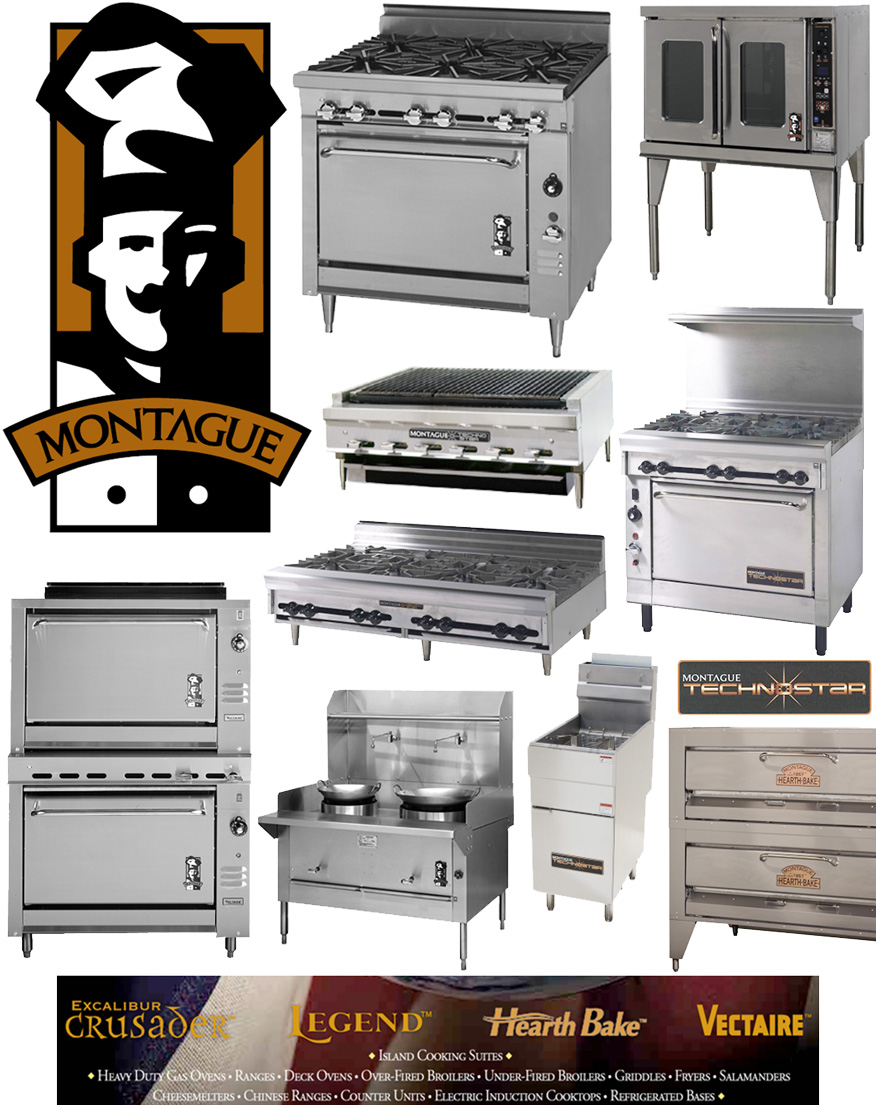 Montague Stoves and Ranges, Professional Commercial Kitchen Equipment since the 1800s